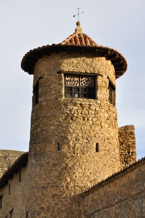 Tower at Mirambel  Spain  Stock Photo - 16995821