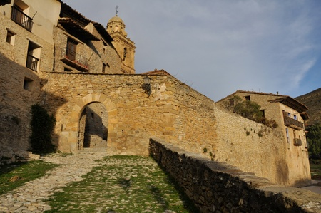 Fountain gate, Mirambel  Spain Stock Photo - 16969515