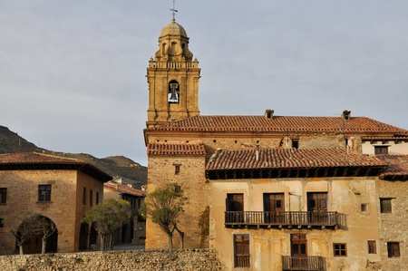Parish of Santa Margarita, Mirambel  Spain  Stock Photo - 16984789