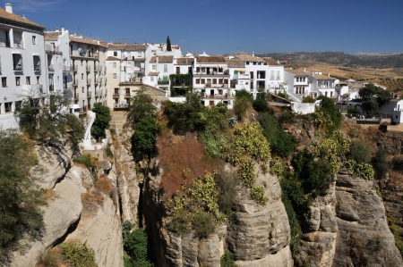 Ronda, town in Malaga, Spain photo