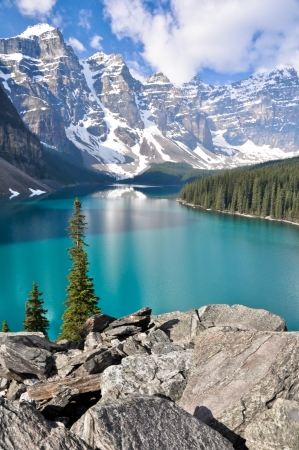 banff national park: Moraine Lake, Rocky Mountains, Canada