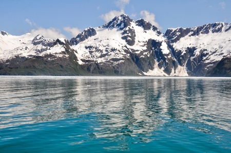 Aialik 베이, 케 나이 피오르드 NP, 알래스카 스톡 콘텐츠