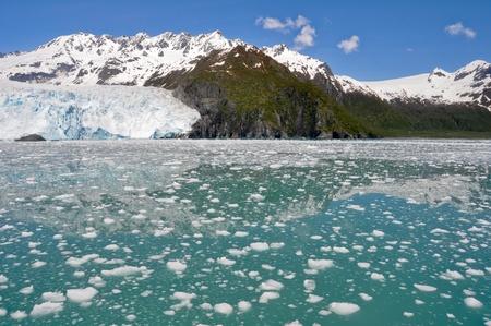 fjords: Aialik glacier, Kenai Fjords NP, Alaska  Stock Photo