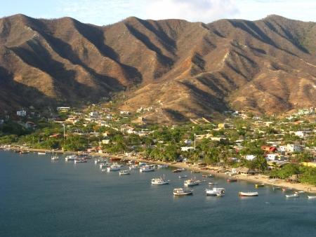 Taganga bay, Colombia Stock Photo