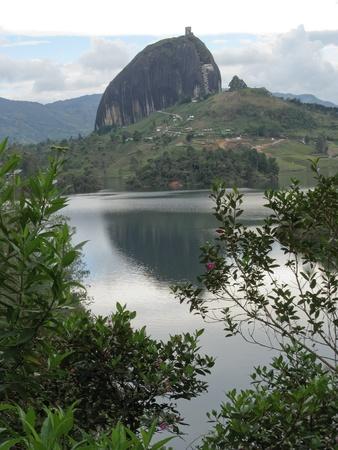 antioquia: Guatape rock, Antioquia, Colombia