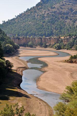 cuenca: Jucar river, Serrania de Cuenca nature park, Spain