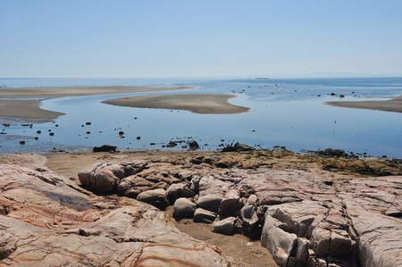 lawrence: Low tide at North Shore, Quebec, Canada