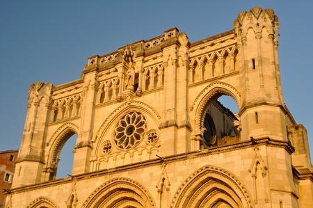 cuenca: Cathedral of Cuenca, Castilla-La Mancha, Spain Stock Photo