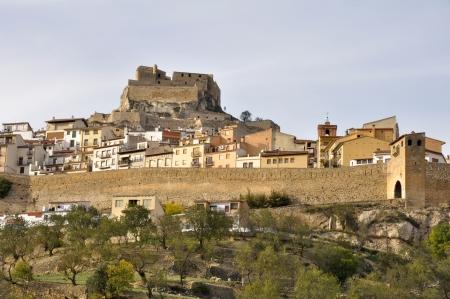 Walled town of Morella, Castellon, Spain Stock Photo - 17508576