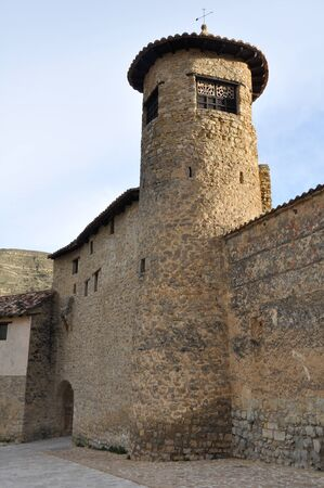 Tower at Mirambel, Spain Stock Photo - 17511066