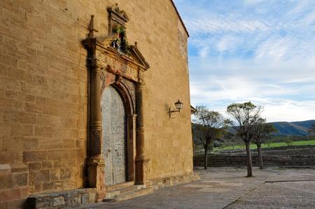 Parish of Santa Margarita, Mirambel, Spain Stock Photo - 17344233