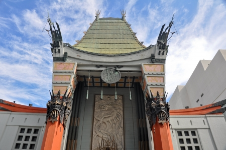 teatro antiguo: Grauman s Chinese Theatre, Hollywood, California