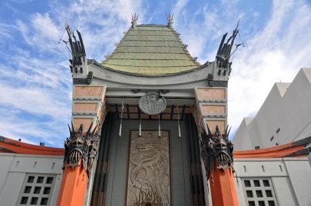 teatro antico: S Grauman Chinese Theatre, Hollywood, California Archivio Fotografico
