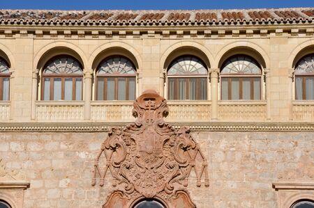 Archbishop s palace, Alcala de Henares, Madrid province, Spain