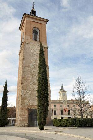 St Mary tower, Alcala de Henares, Madrid province, Spain photo