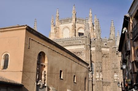 Monastery of San Juan de los Reyes, Toledo, Spain Banco de Imagens