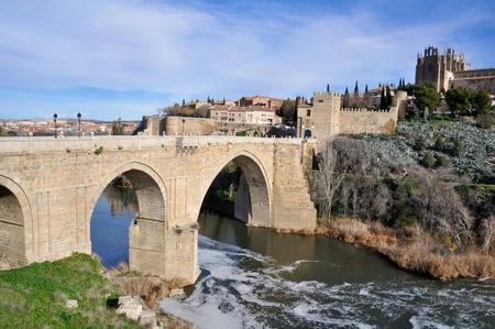 Bridge of San Martin, Toledo, Spain