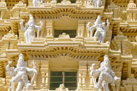 Statues at Sri Chamundeswari Temple, Mysore, India Stock Photo - 17898017