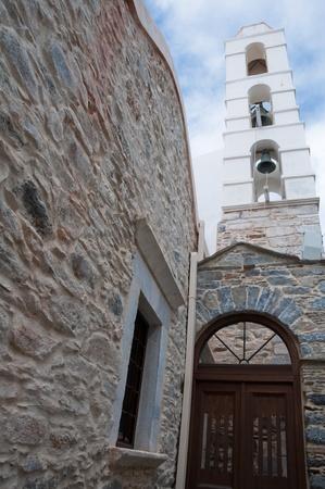 ano: Catholic church in Ano Syros, Greece