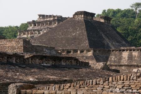 pre columbian: Archaeological site of El Tajin, Veracruz, Mexico