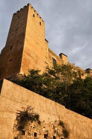 Castle of Tortosa, Tarragona, Spain Stock Photo - 18402716