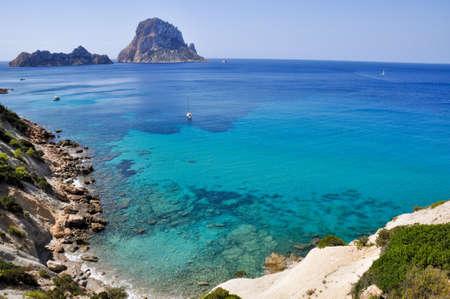 vedra: Es Vedra island, Ibiza, Balearic Islands, Spain