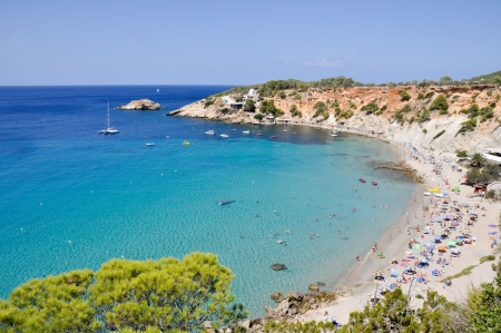 baleares: Cala d Hort, Ibiza, Spain