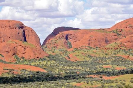 The Olgas, Northern Territory, Australia Stock Photo - 20691059