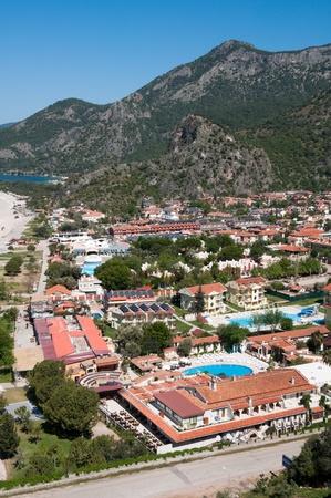 oludeniz: Town of Oludeniz, Turkish Riviera