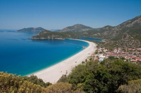 oludeniz: Oludeniz beach, Fethiye, Turkey