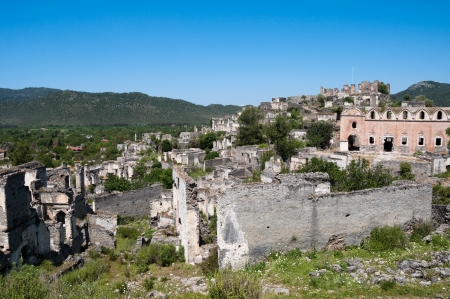karmylassos: Ghost town of Kayakoy, Turkey