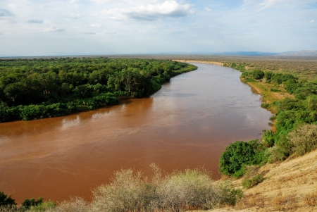 Omo vallei van de rivier, Ethiopië