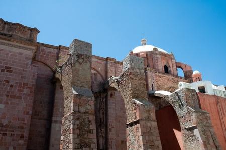 parish: Ancient temple of San Agustin, Zacatecas, Mexico