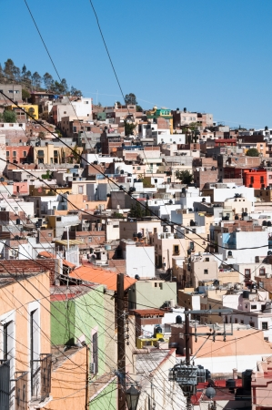 labyrinthine: Labyrinthine village of Zacatecas, Mexico