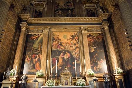 retablo: Retablo del templo de la Anunciaci�n, Sevilla, Espa�a
