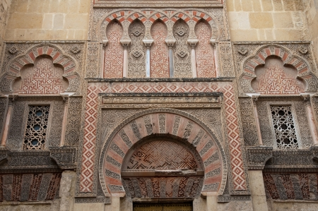 moresque: Side gate of Mezquita-Catedral, Cordoba, Spain