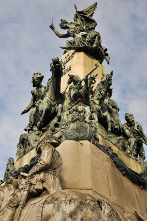 alava: Monument to the Battle of Vitoria, Spain