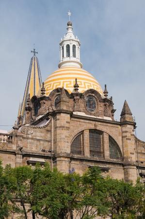 guadalajara: Guadalajara cathedral, Jalisco, Mexico Stock Photo