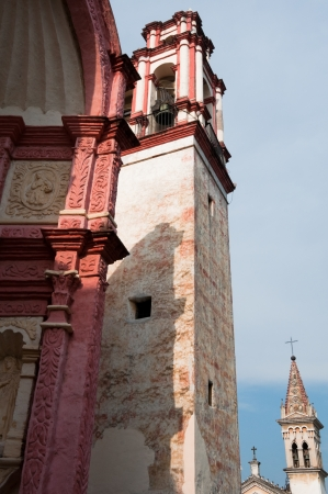 morelos: Chapels of the Cathedral of Cuernavaca, Mexico Stock Photo