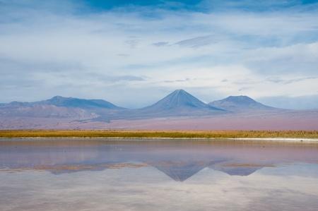 san pedro: Andes mountain range near San Pedro de Atacama, Chile Stock Photo