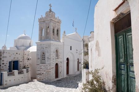 Church in Marpissa, Greece photo