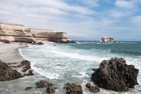 portada: Arch of La Portada, Antofagasta, Chile