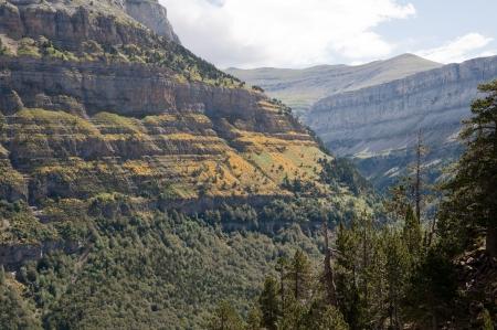 ordesa: Ordesa national park, Pyrenees, Spain