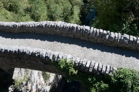 anisclo: Bridge of San Urbez, Spain