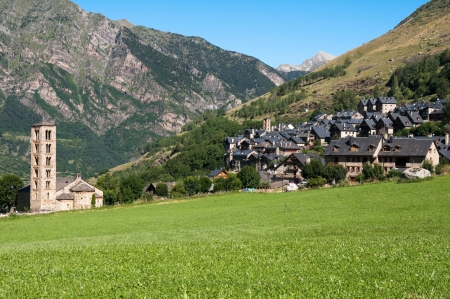 Town of Taull, Vall de Boi, Catalonia, Spain
