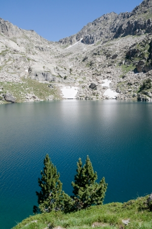 Estany Gran dAmitges, Aiguestortes and Sant Maurici NP, Pyrenees, Spain photo