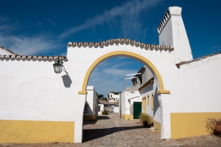 herrenhaus: Typische Herrenhaus in Alentejo, Portugal Editorial