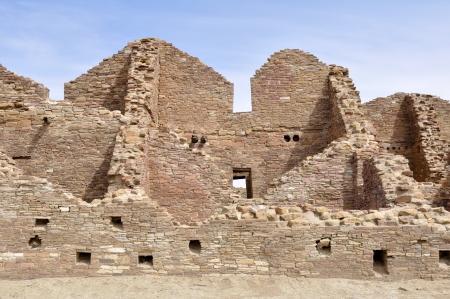 Pueblo del Arroyo ruins, Chaco Canyon, New Mexico, USA photo