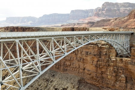 Navajo Bridge - Steel Arch Bridge over Colorado River, Arizona photo