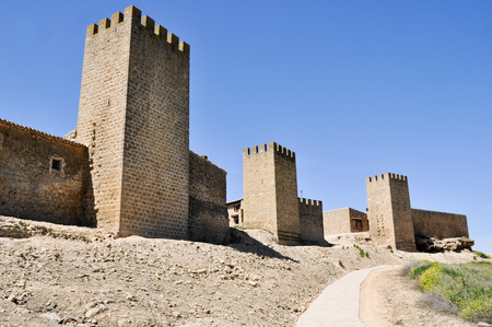Wall of Artajona, Navarre, Spain Stock Photo - 22384775